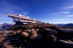 Chäserrugg mit Gipfelgebäude von Herzog & de Meuron