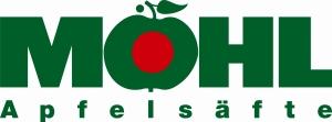 Möhl-Logo + Apfelsäfte, farbig